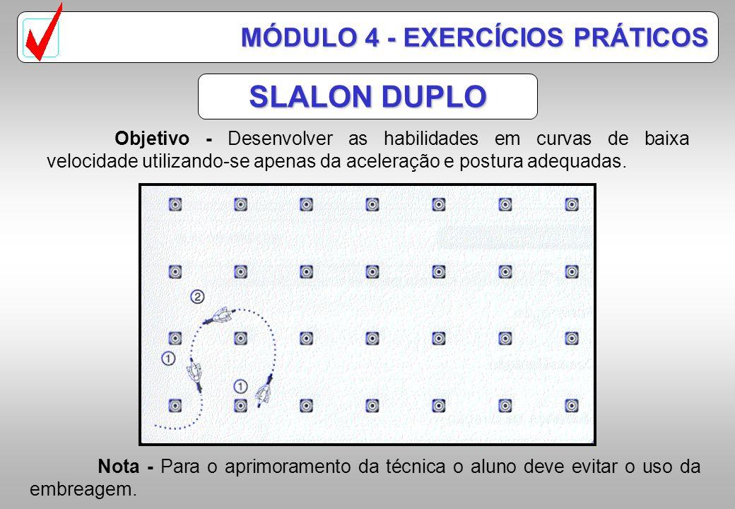 SLALON DUPLO MÓDULO 4 - EXERCÍCIOS PRÁTICOS