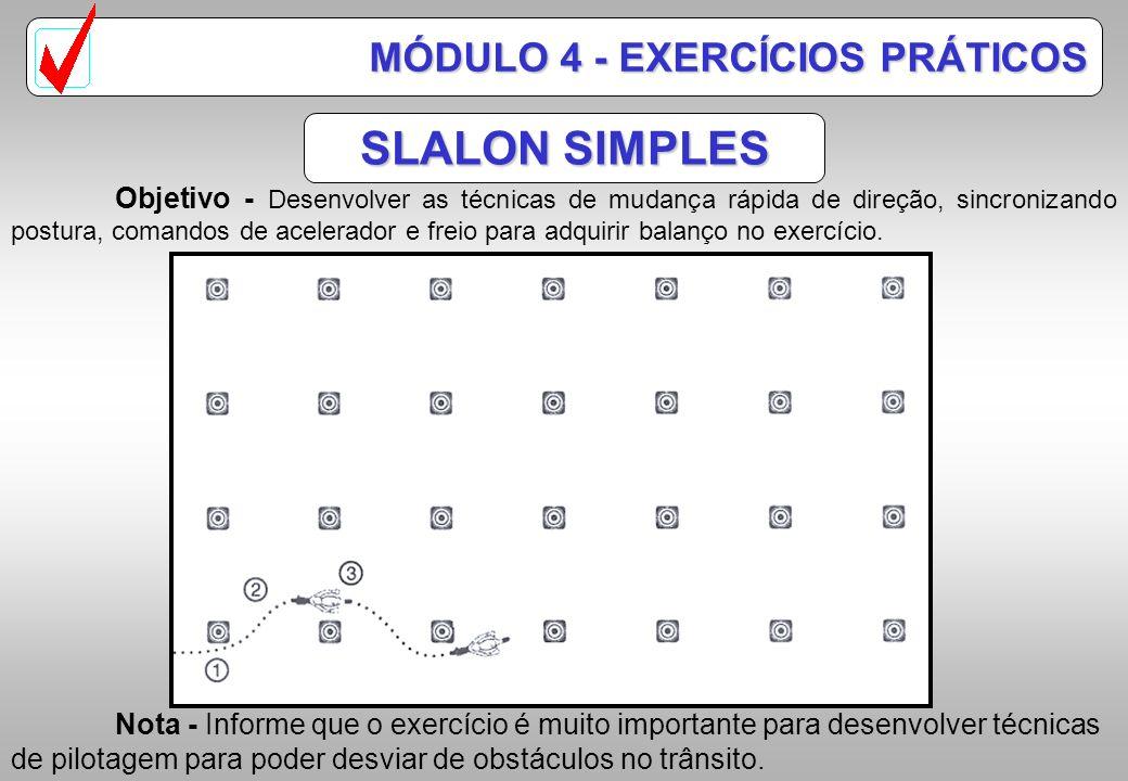 SLALON SIMPLES MÓDULO 4 - EXERCÍCIOS PRÁTICOS