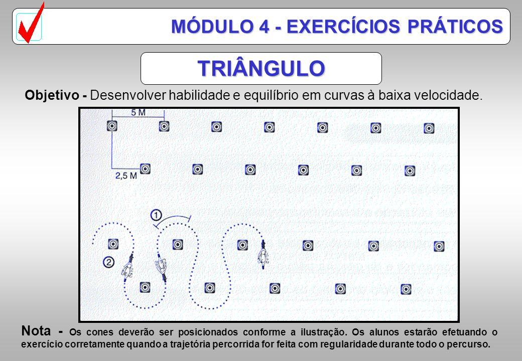 TRIÂNGULO MÓDULO 4 - EXERCÍCIOS PRÁTICOS