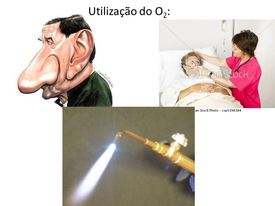 Utilização do O2: