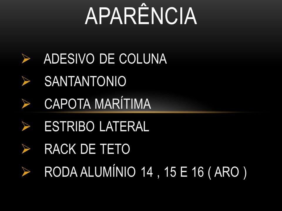 APARÊNCIA ADESIVO DE COLUNA SANTANTONIO CAPOTA MARÍTIMA