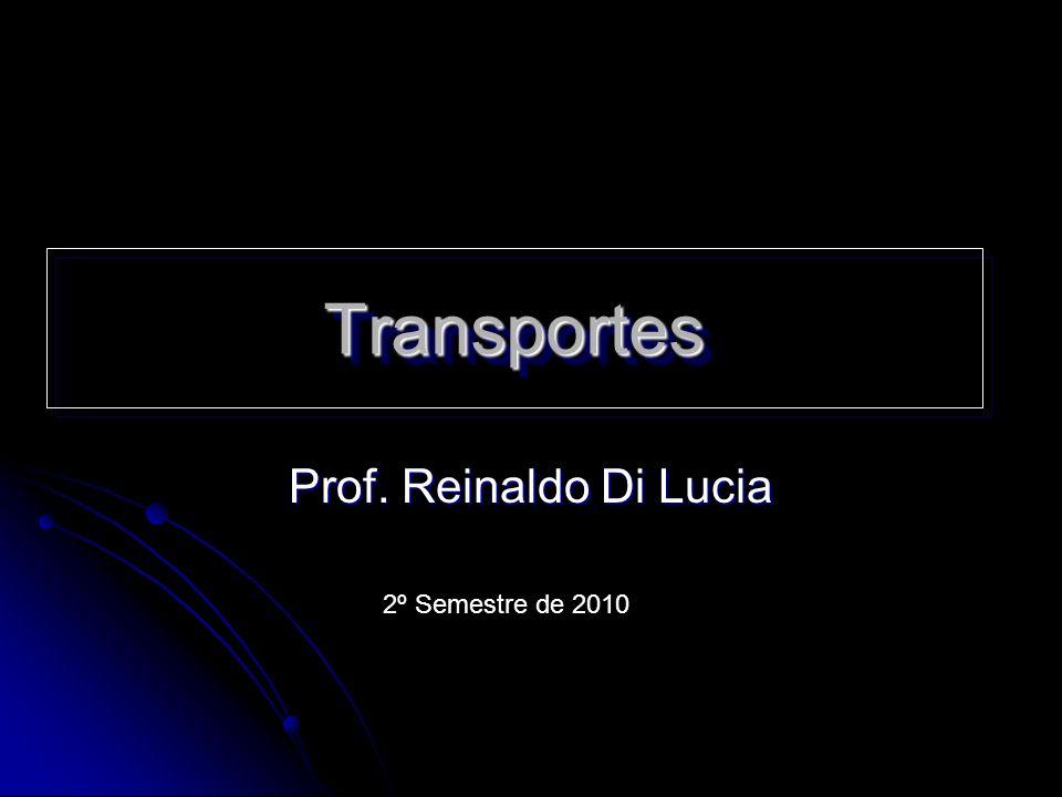 Transportes Prof. Reinaldo Di Lucia 2º Semestre de 2010