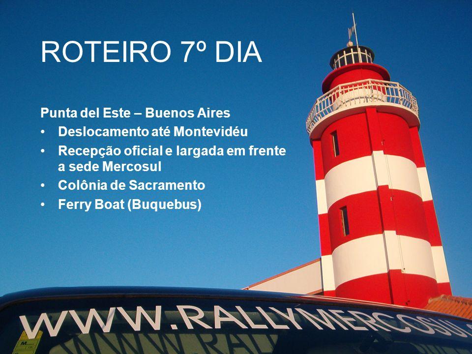 ROTEIRO 7º DIA Punta del Este – Buenos Aires