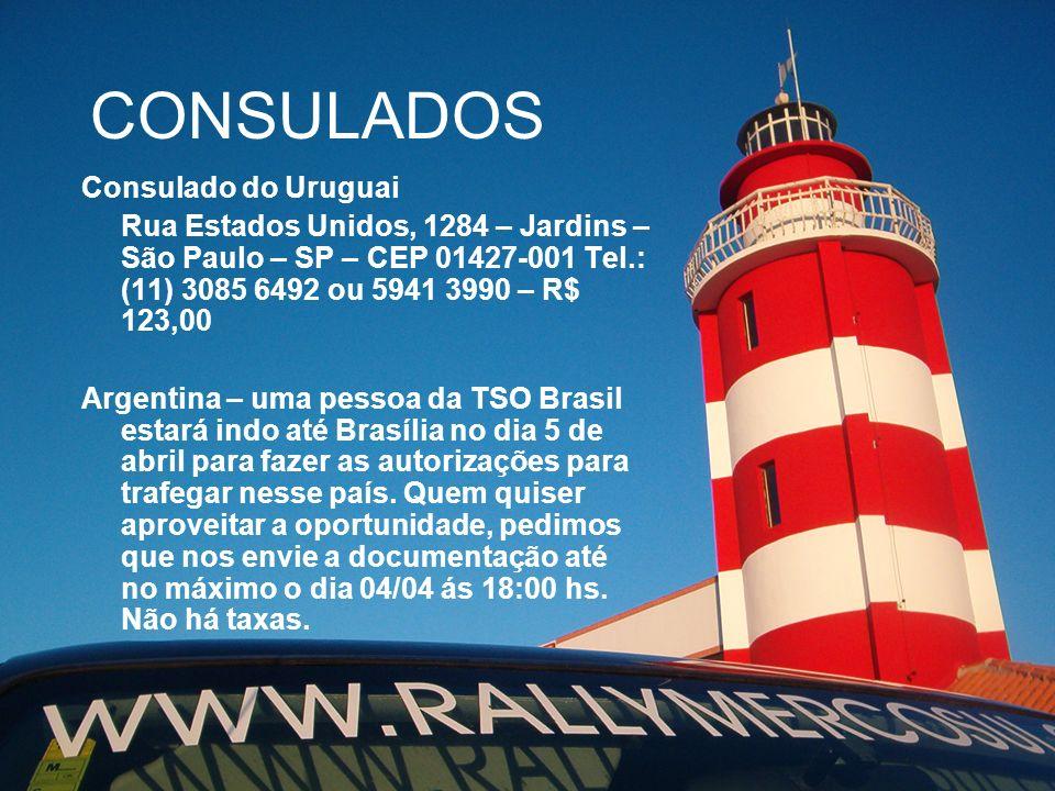 CONSULADOS Consulado do Uruguai