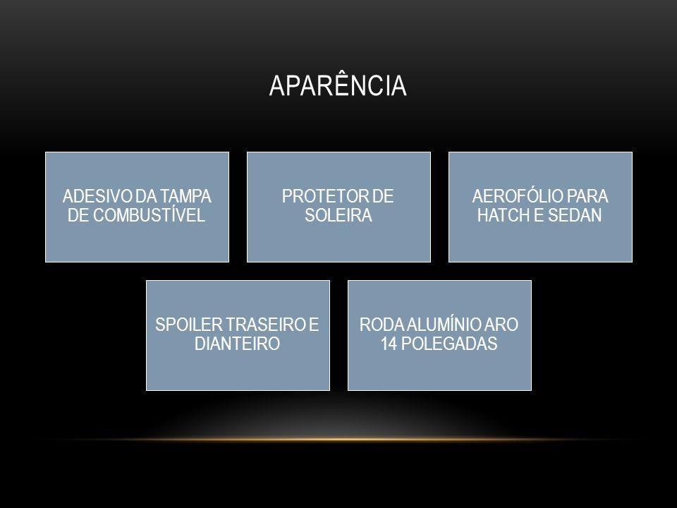 APARÊNCIA ADESIVO DA TAMPA DE COMBUSTÍVEL PROTETOR DE SOLEIRA