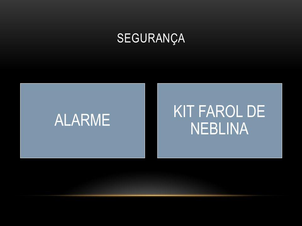 SEGURANÇA ALARME KIT FAROL DE NEBLINA