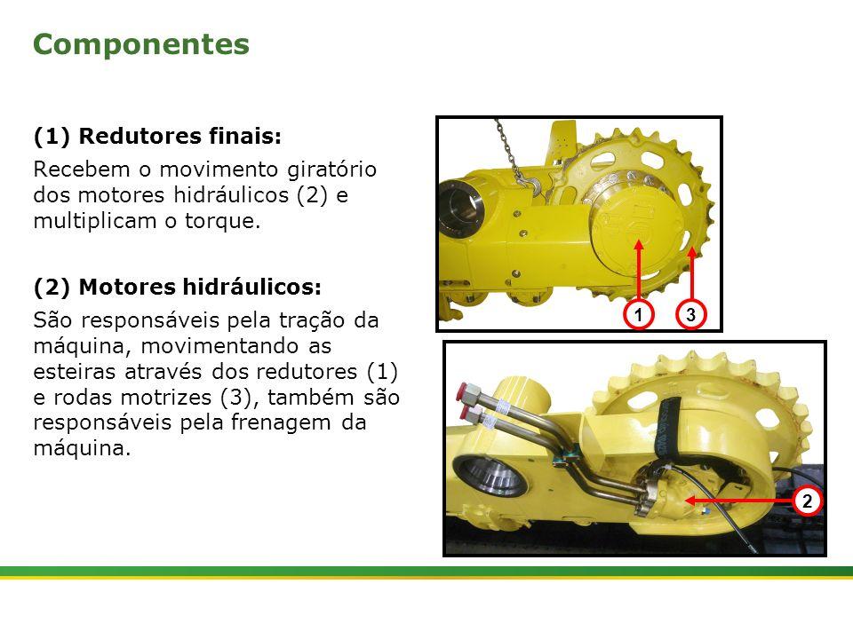 Componentes (1) Redutores finais: