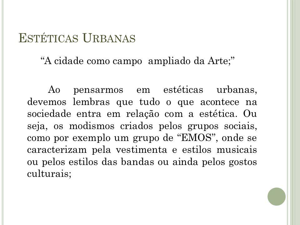 Estéticas Urbanas