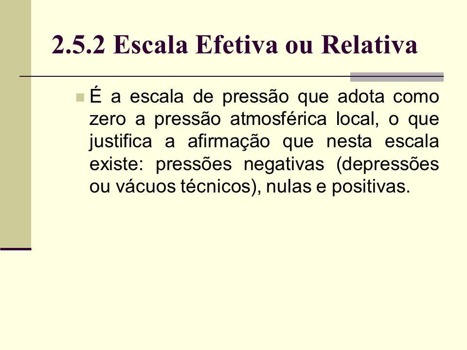 2.5.2 Escala Efetiva ou Relativa
