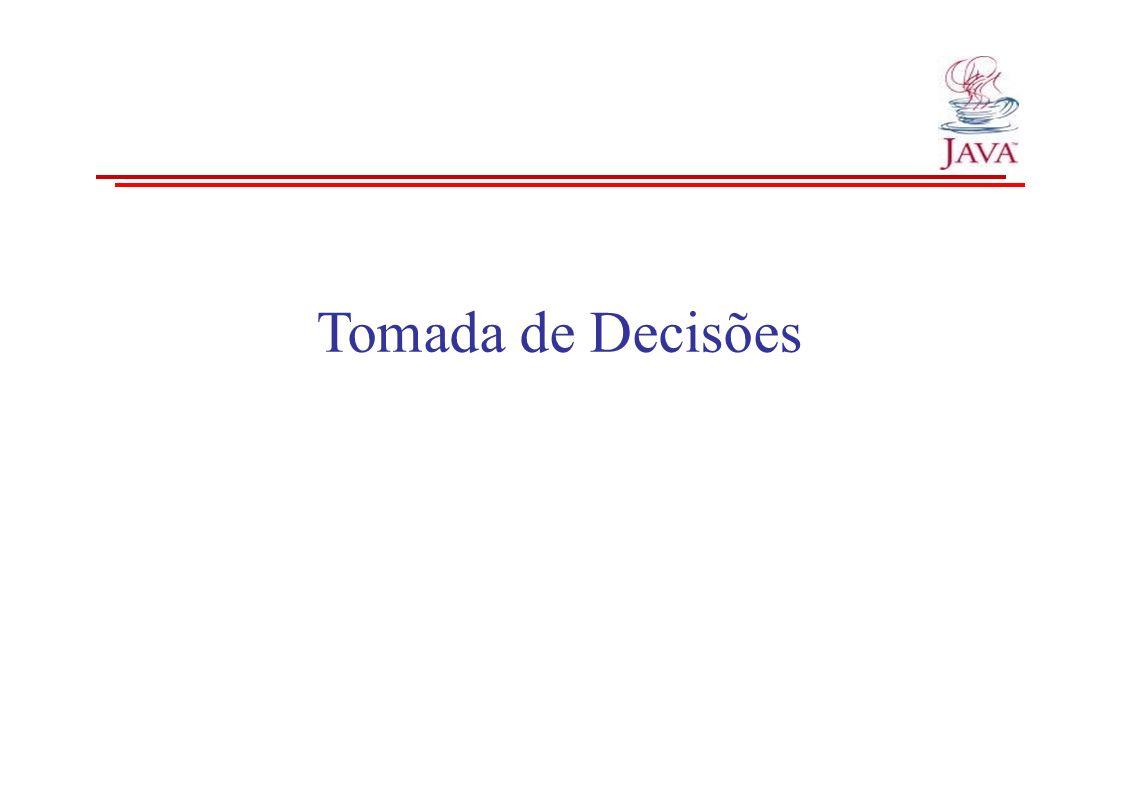 Tomada de Decisões