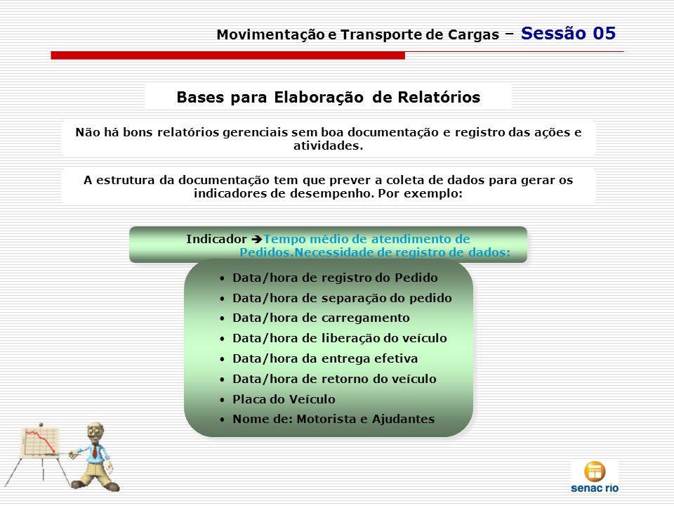Bases para Elaboração de Relatórios