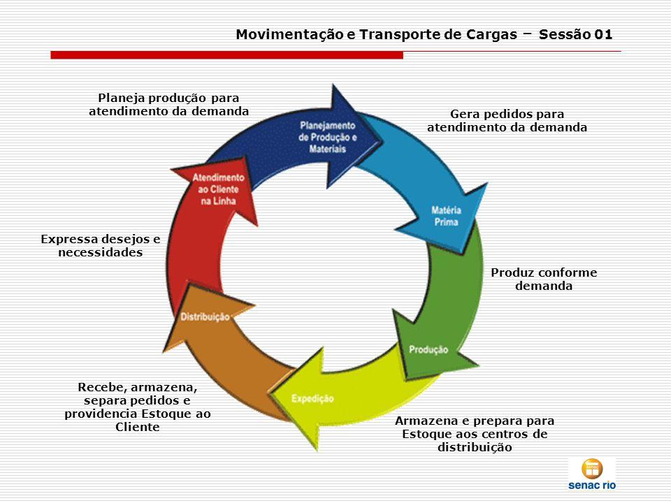 Movimentação e Transporte de Cargas – Sessão 01