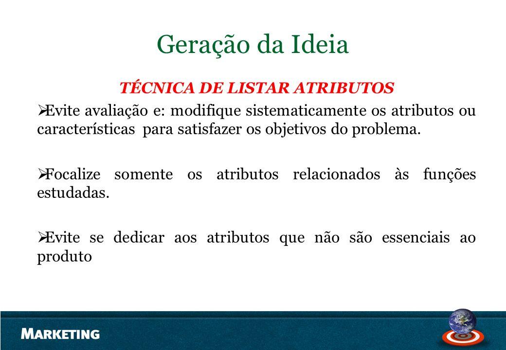 TÉCNICA DE LISTAR ATRIBUTOS