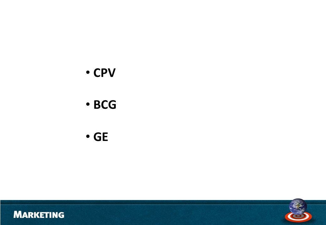 CPV BCG GE