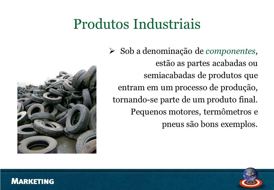 Produtos Industriais Sob a denominação de componentes,