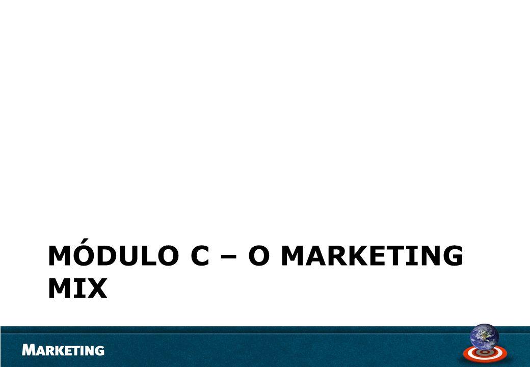Módulo c – o marketing mix