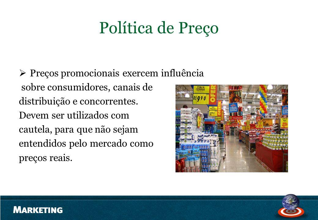 Política de Preço Preços promocionais exercem influência