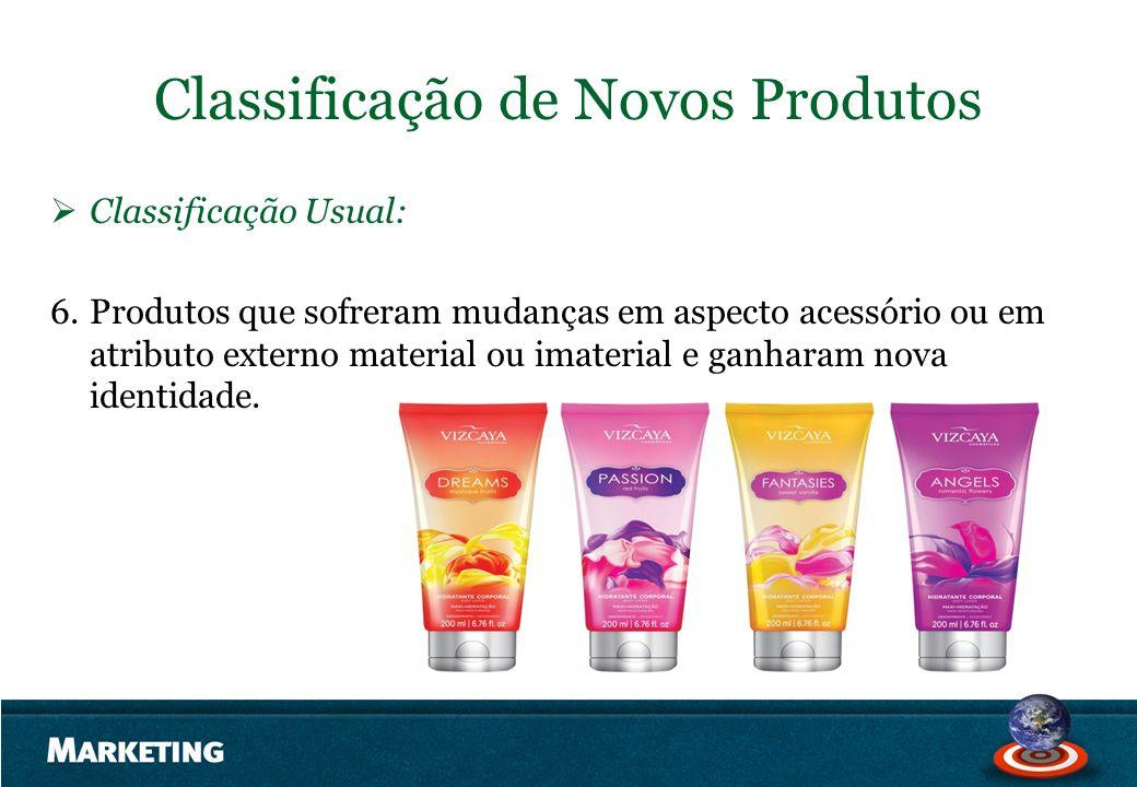 Classificação de Novos Produtos