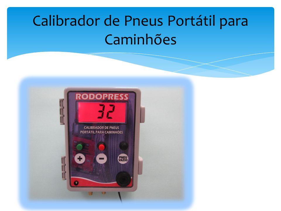 Calibrador de Pneus Portátil para Caminhões