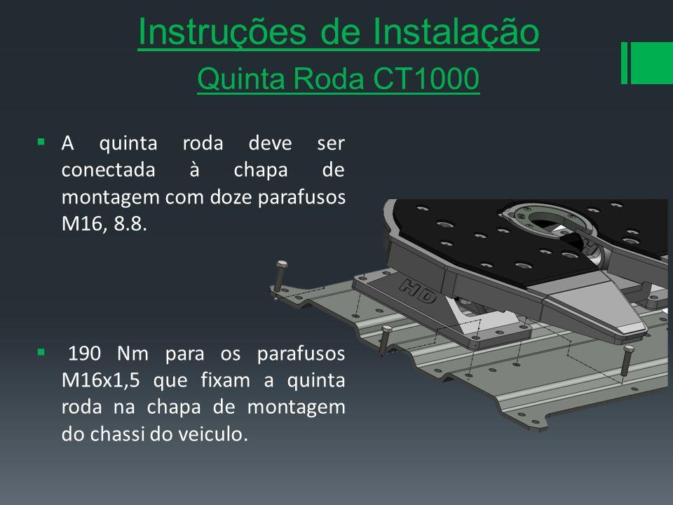 Instruções de Instalação Quinta Roda CT1000