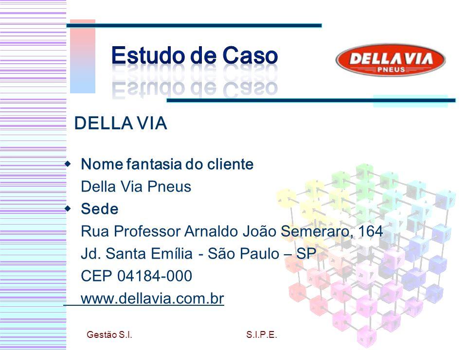 Estudo de Caso DELLA VIA Nome fantasia do cliente Della Via Pneus Sede