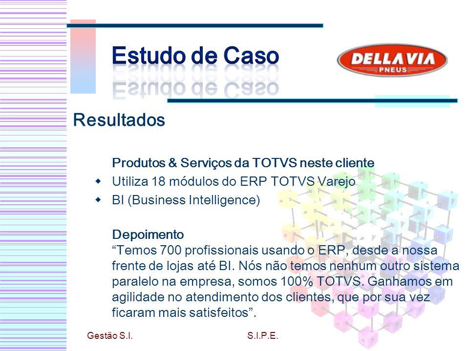 Estudo de Caso Resultados Produtos & Serviços da TOTVS neste cliente