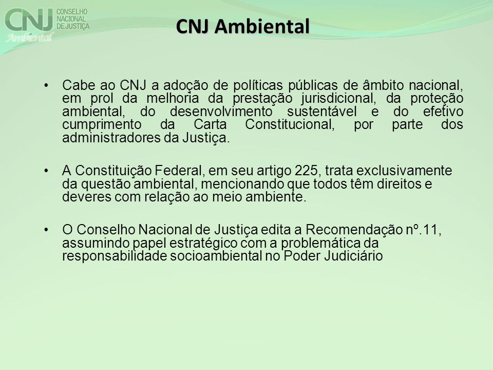 CNJ Ambiental