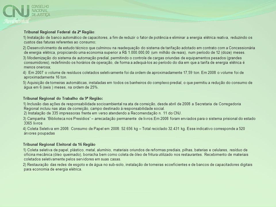 Tribunal Regional Federal da 2ª Região: