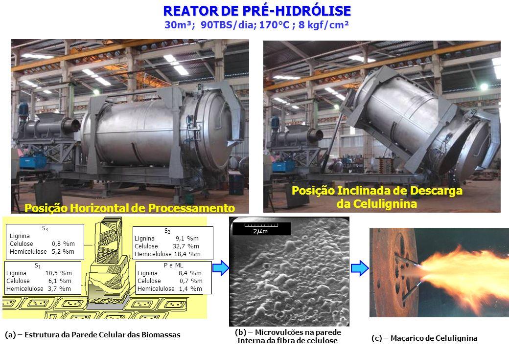 REATOR DE PRÉ-HIDRÓLISE