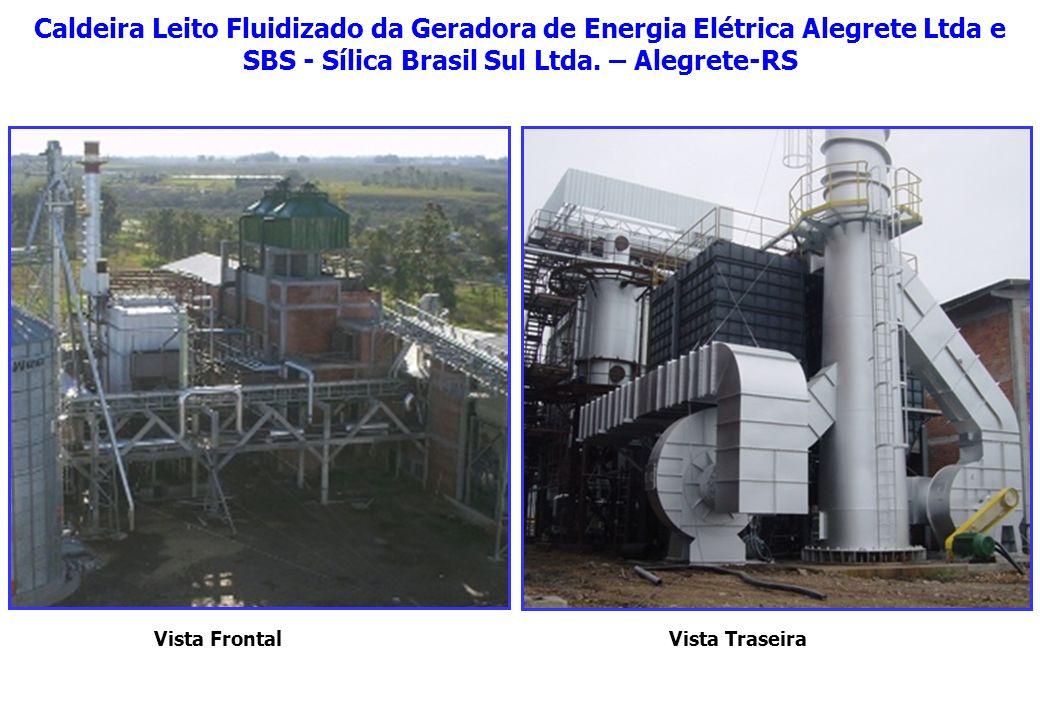 Caldeira Leito Fluidizado da Geradora de Energia Elétrica Alegrete Ltda e SBS - Sílica Brasil Sul Ltda. – Alegrete-RS