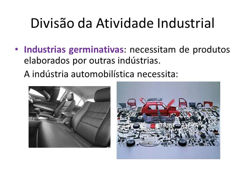 Divisão da Atividade Industrial