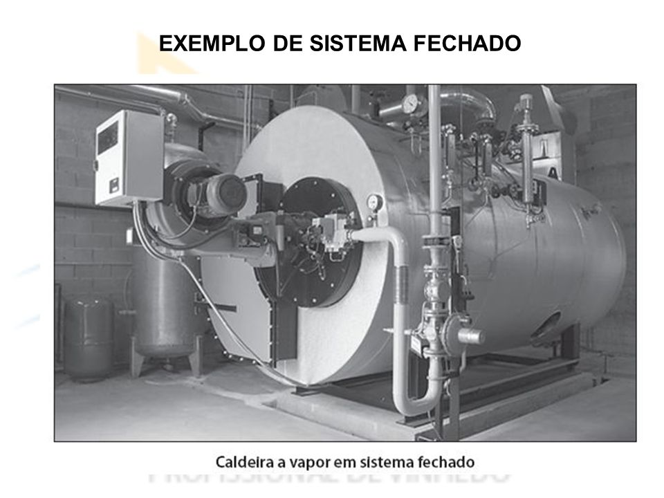 EXEMPLO DE SISTEMA FECHADO