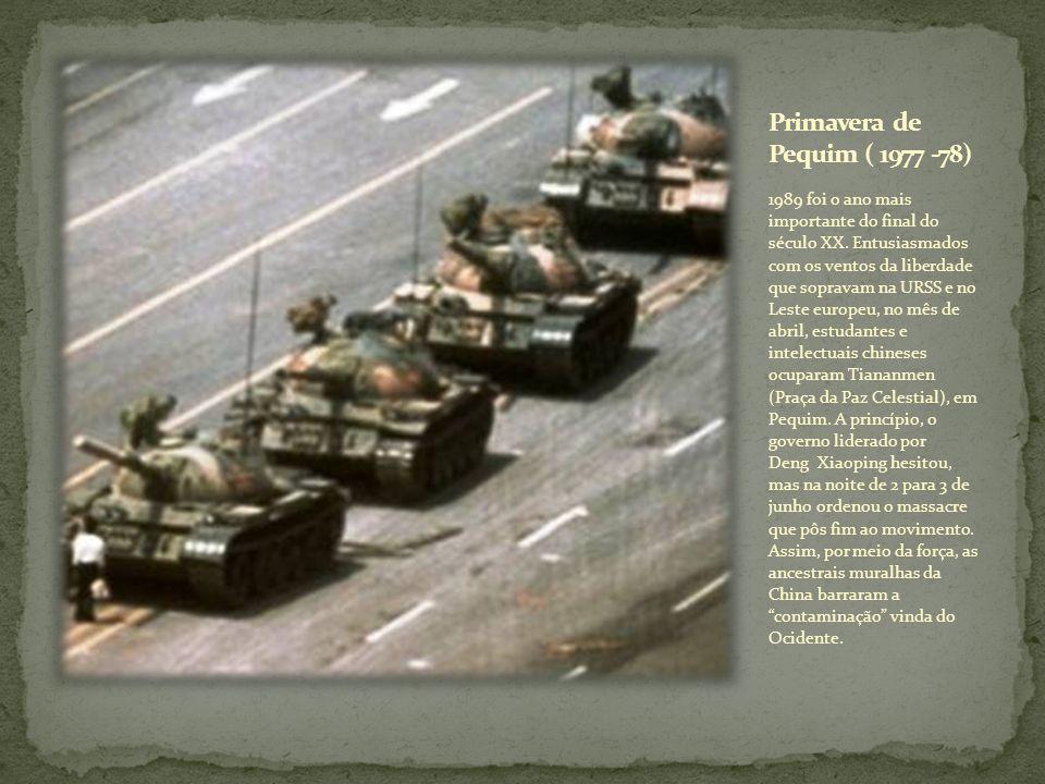Primavera de Pequim ( 1977 -78)