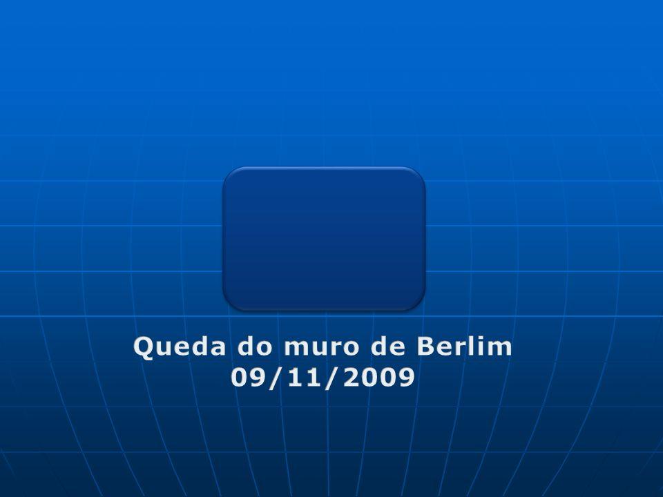 Queda do muro de Berlim 09/11/2009