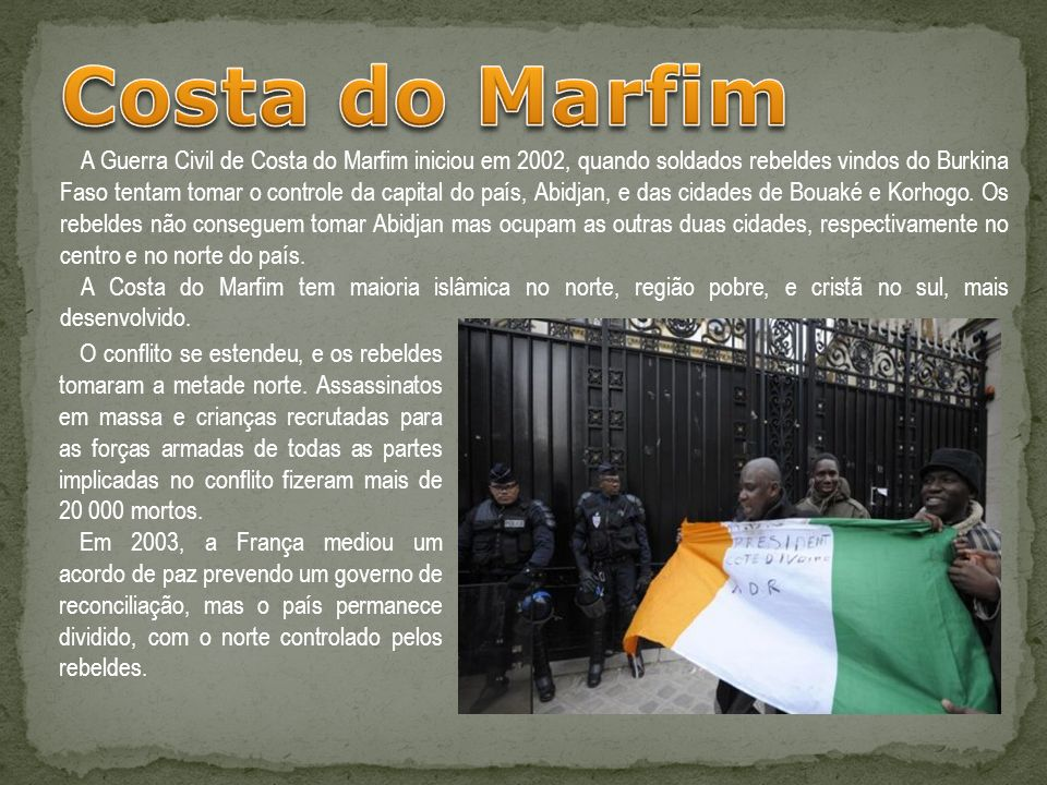 Costa do Marfim