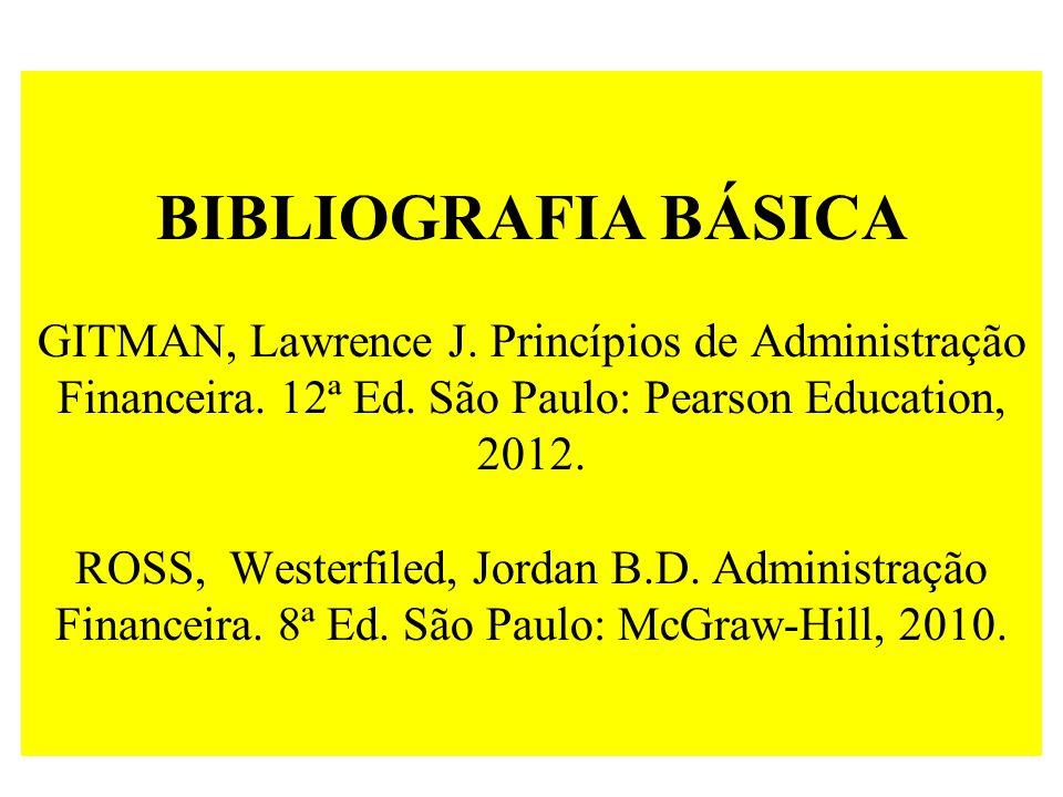 BIBLIOGRAFIA BÁSICA GITMAN, Lawrence J