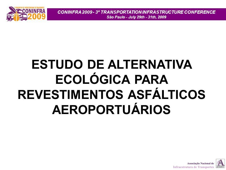 CONINFRA 2009 - 3º TRANSPORTATION INFRASTRUCTURE CONFERENCE