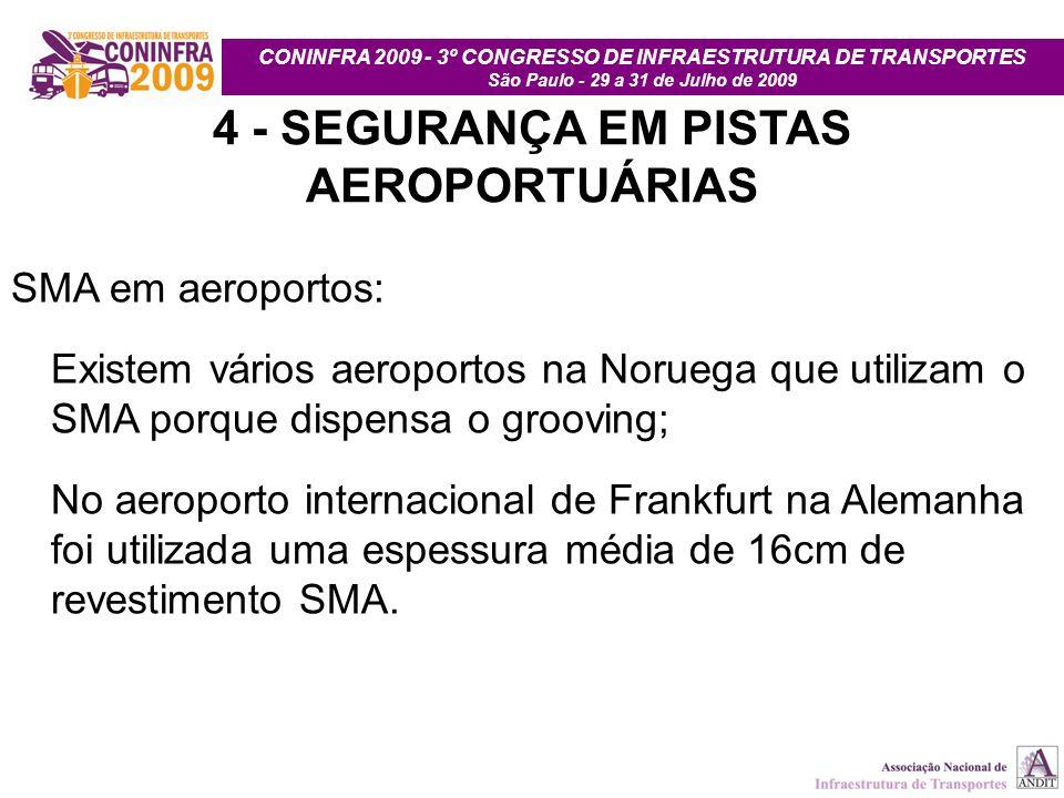 4 - SEGURANÇA EM PISTAS AEROPORTUÁRIAS