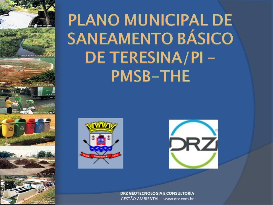 PLANO MUNICIPAL DE SANEAMENTO BÁSICO DE TERESINA/PI – PMSB-THE