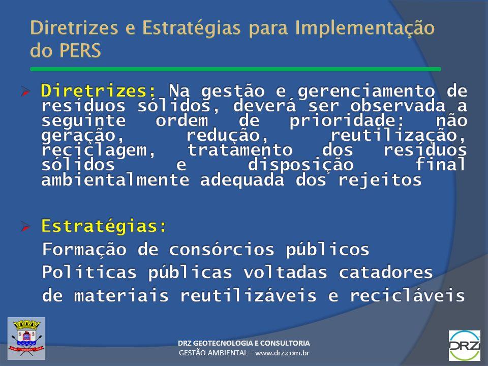 Diretrizes e Estratégias para Implementação do PERS