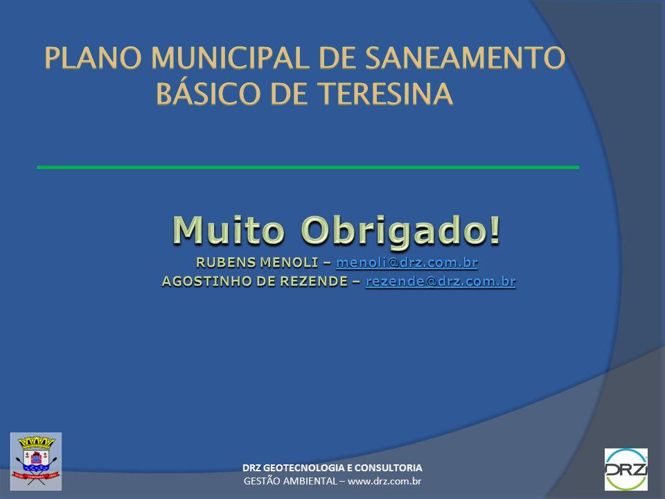 PLANO MUNICIPAL DE SANEAMENTO BÁSICO DE TERESINA