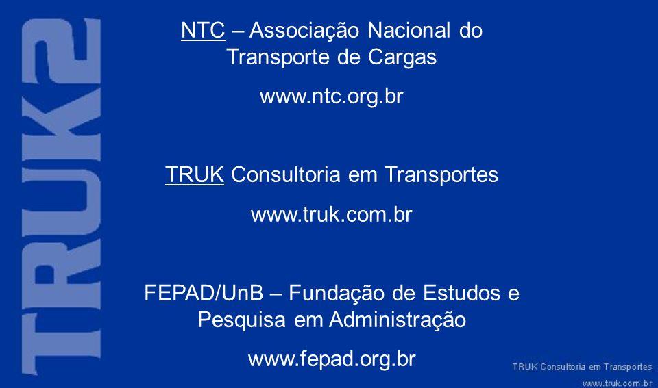 NTC – Associação Nacional do Transporte de Cargas www.ntc.org.br