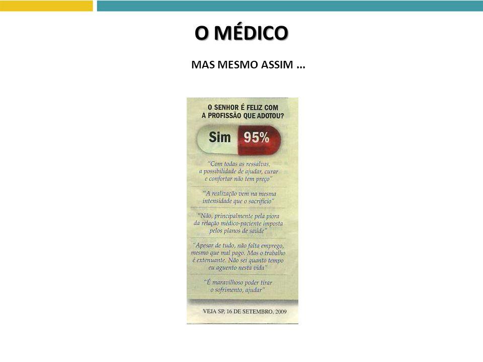 O MÉDICO MAS MESMO ASSIM ...
