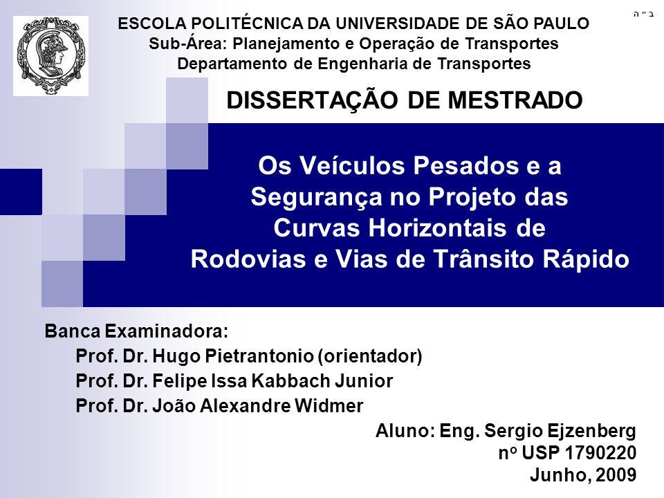 ESCOLA POLITÉCNICA DA UNIVERSIDADE DE SÃO PAULO