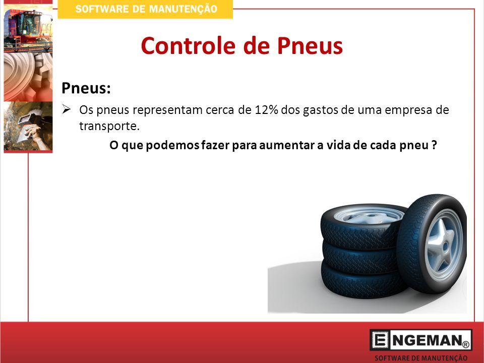 Controle de Pneus Pneus: