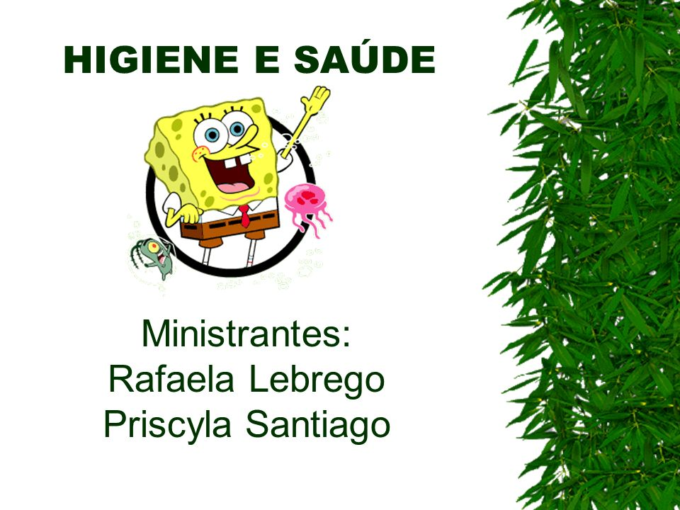 Ministrantes: Rafaela Lebrego Priscyla Santiago