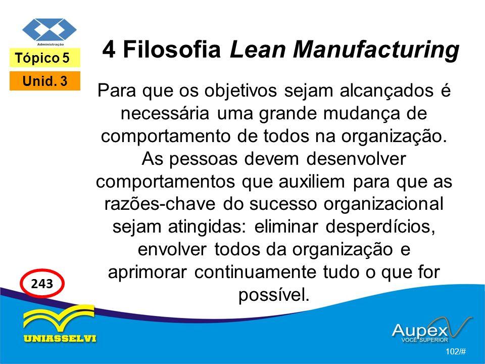 4 Filosofia Lean Manufacturing