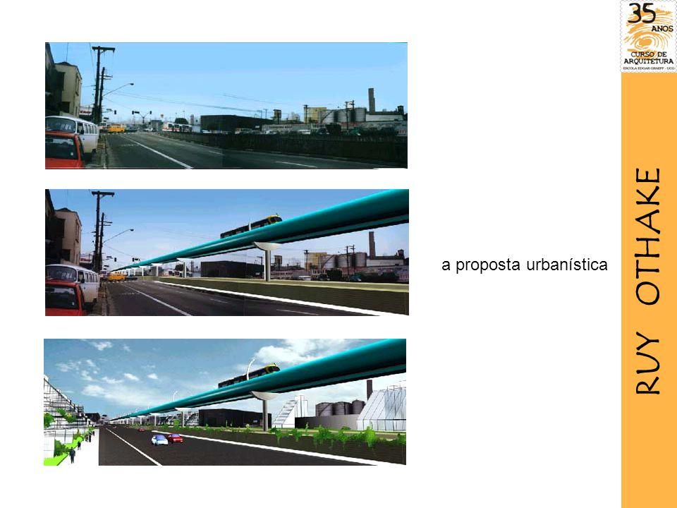 RUY OTHAKE a proposta urbanística