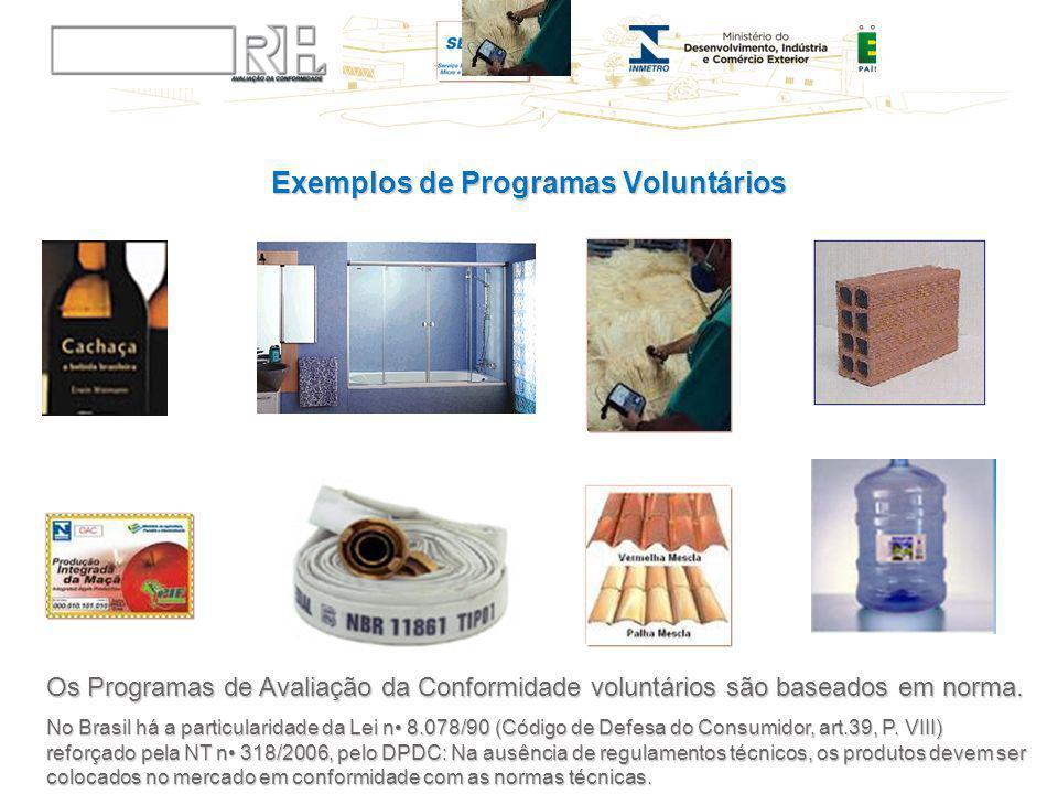 Exemplos de Programas Voluntários