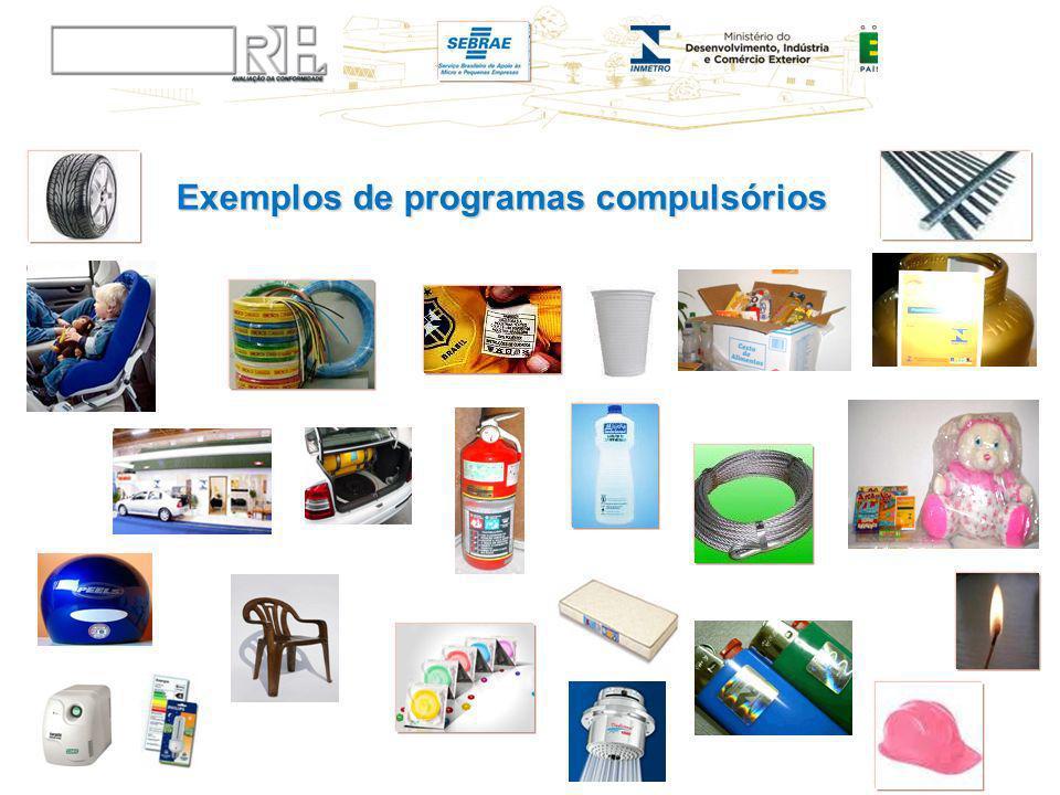 Exemplos de programas compulsórios